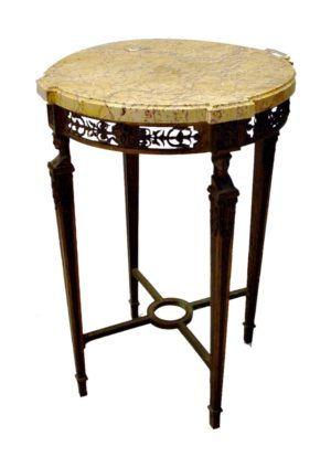 Mesa Velador de Bronce.1799-1815