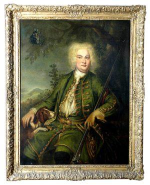 Frederick Wilhem II Rey de Prusia, Escuela Alemana, S. XVIII