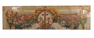 Panel Renacentista Policromado, Ribesalbes, S. XVIII