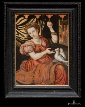 La Alegoría de la Paz. S. XVIII. Anvers, 1550 - 1560.