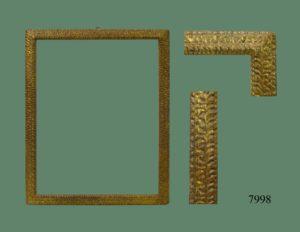 Marco dorado de talla. S. XVII