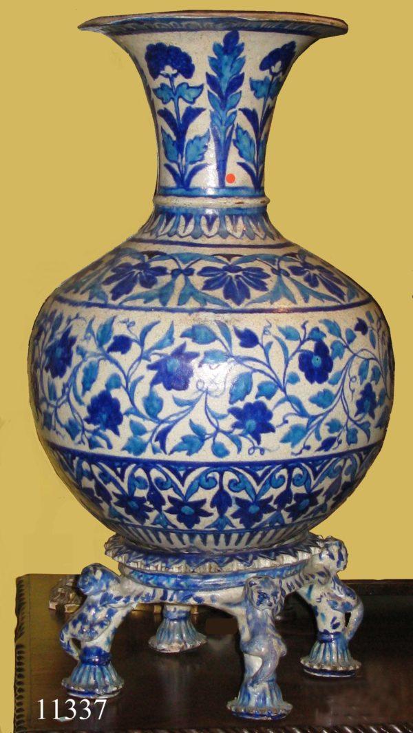 Jarrón de cerámica Persa, S. XVI