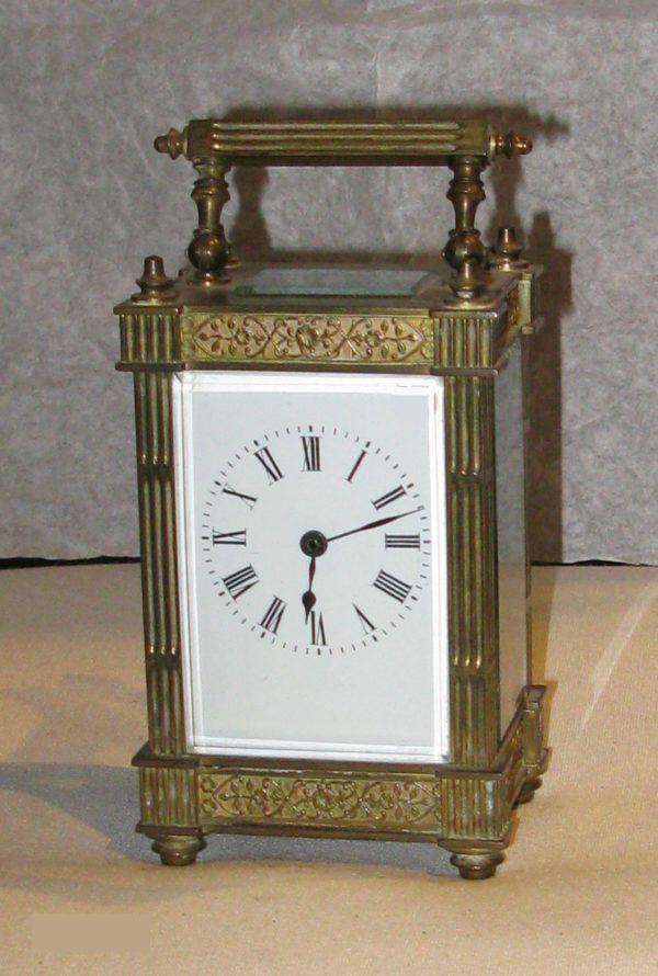 Reloj de Carruaje, de bronce
