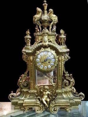 Reloj de sobremesa Luis XV