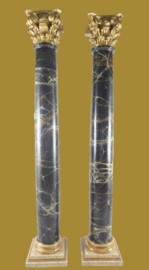 Pareja de columnas